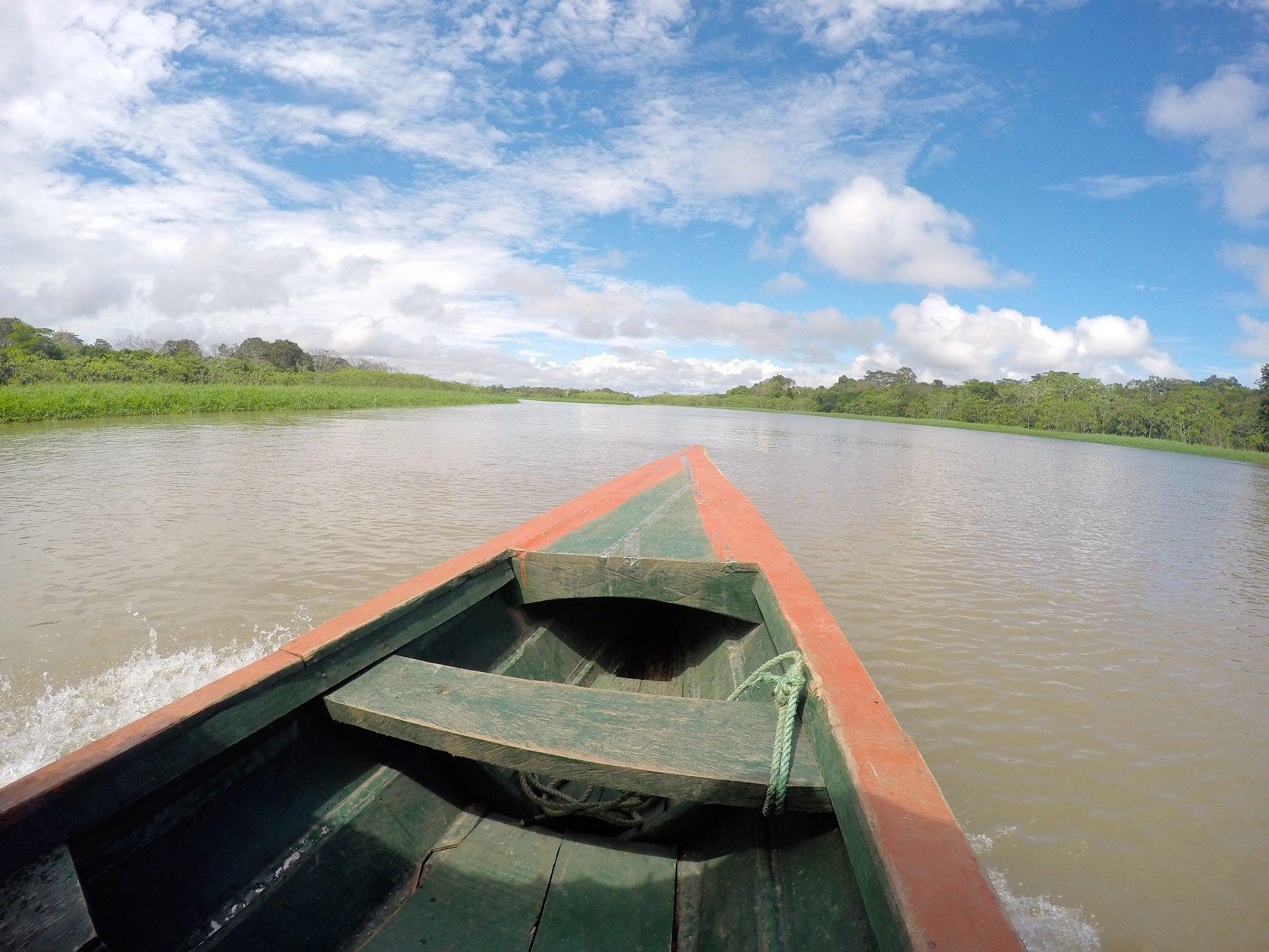 Pecapeca on the Amazon River